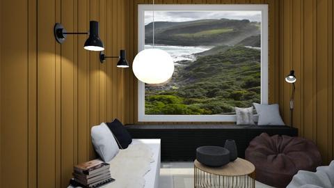 Great Ocean Road Retreat - Living room  - by milk07Designs
