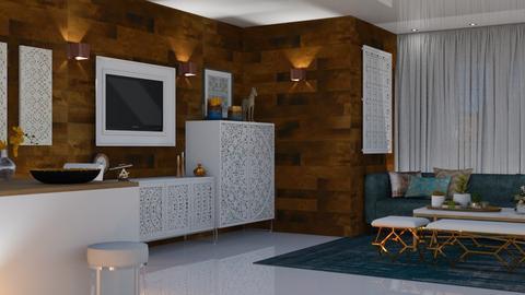 Oporto - Living room - by Claudia Correia