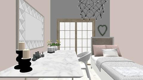 my bedroom - Glamour - Bedroom  - by Martina Napolitano