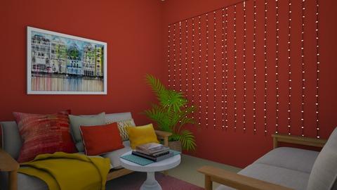 seating room - Living room - by maram salim
