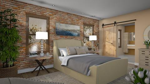 574 - Rustic - Bedroom  - by Claudia Correia