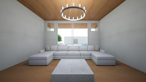 mansion 12 - Living room  - by Architectdreams