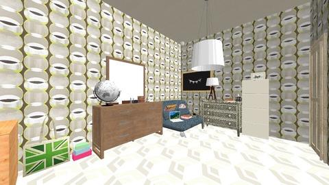 Geometric bedroom - Country - Bedroom  - by deleted_1555954801_Shoe690