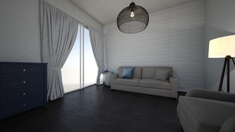 Ures szoba berendezes5 - Living room  - by bildiko
