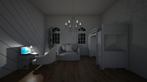 white bedroom - Bedroom  - by palomino123