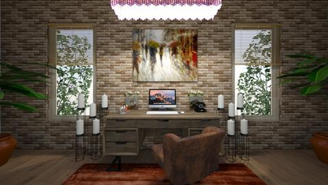 stormy home office - Office  - by Foleyburns10