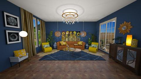 Sunflowers - Living room  - by mandalea545