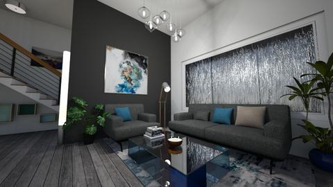 Stormy Living Room - Living room  - by kasjdg