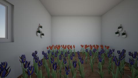 tulip house - Garden  - by c0tt0ncandy555