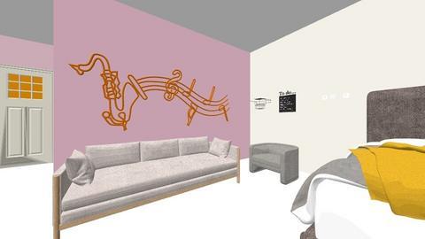 Hab aesthatic - Vintage - Bedroom  - by alejandra123pumuki