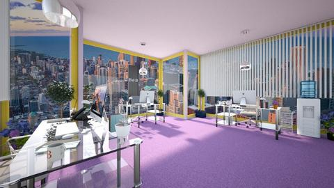 Modern Playful Office  - Office - by Blancac
