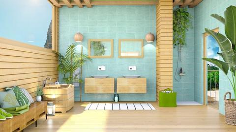 holidays in the bathroom - Bathroom  - by rasty
