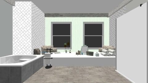 Bath room - Rustic - Bathroom  - by molldoll05