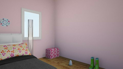 Little Kid  Room - Retro - Kids room  - by Karen Grace Mendoza Cajoles_981