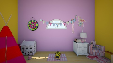 Girly Playroom - Kids room - by MyFutureHome