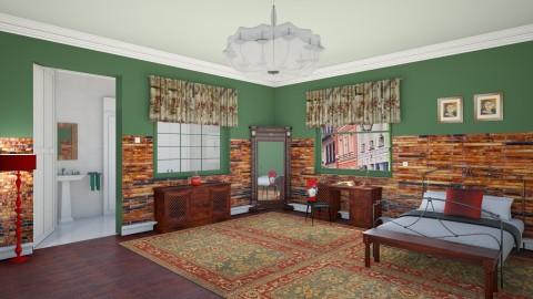 Amelie Poulain - Vintage - Bedroom  - by deleted_1524667005_Elena68