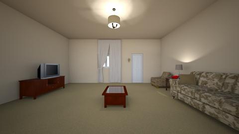 Retro Desert Home - Living room  - by WestVirginiaRebel