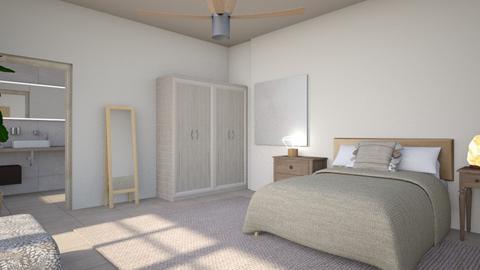 Warm minimalism - Minimal - Bedroom  - by augustmoon