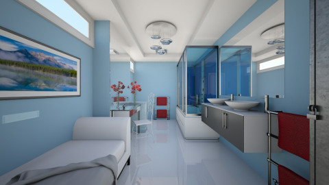 Van der Valk 1 - Modern - Bathroom  - by Theadora