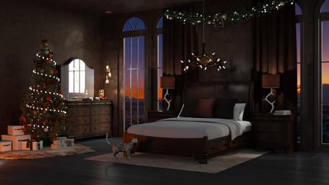 Xmas RM - Bedroom - by Twilight Tiger