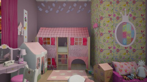 Just For Princess - Kids room  - by klara992