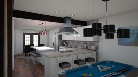 Kitchen L v6 dining light - Kitchen  - by kurtwise