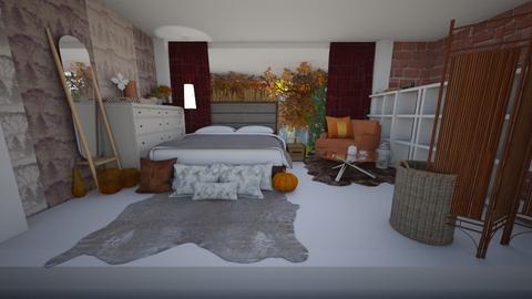 Fall YaLl - Bedroom  - by Xxblue_romanxX