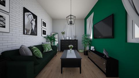 Zuzia - Living room  - by Zuzia2006