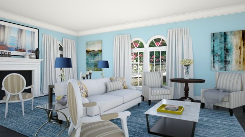 blueplace - Classic - Living room  - by mire roig