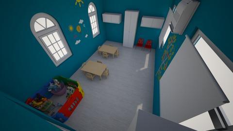 Sunday Classroom - Kids room  - by najera