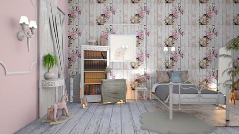 chic shab - Vintage - Bedroom  - by JoyG23