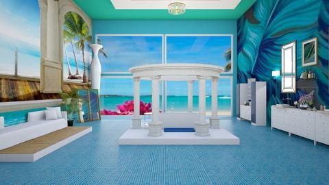 Tropical Spa Bathroom - Bathroom  - by fashiondesigner7