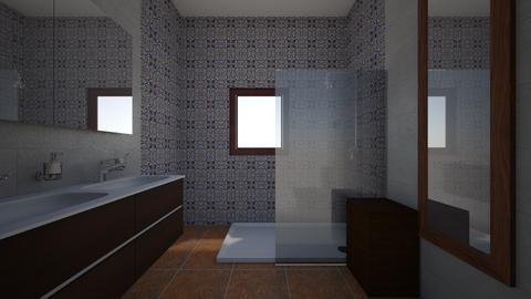 Casa Toni Bathroom Rev 01 - Bathroom - by ILoveMojacar