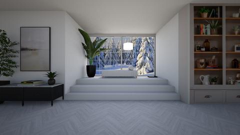 Winter - Living room  - by Tanem Kutlu