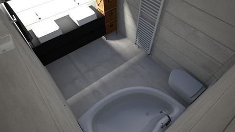 Baie sus 2 - Bathroom - by macoveivioleta18