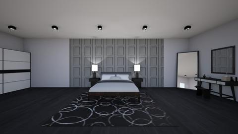 Bedroom - Modern - Bedroom  - by A7medohbaldy