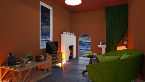 Yak Yak room near beach - Living room  - by MPIB