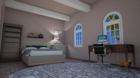 First Room - Modern - Bedroom  - by rafarmansulroblox08