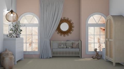 baby girls room - Bedroom  - by myz_design