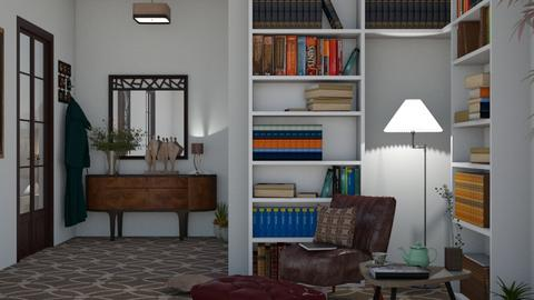 reading corner - Living room  - by nat mi