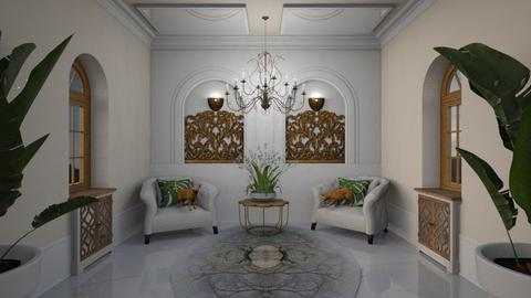 Rococo Panels - Eclectic - by Nicky West