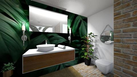 Forest Bathroom - Bathroom  - by KylaTH