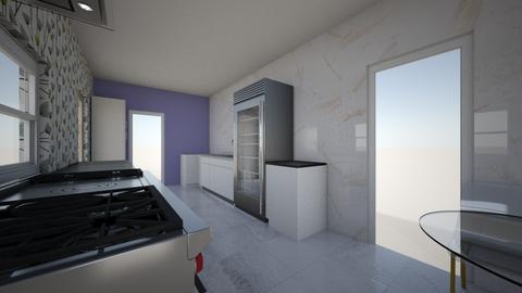 ktn floor plan - Kitchen  - by Coco Birman