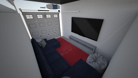 garage - Kids room  - by maddierimel