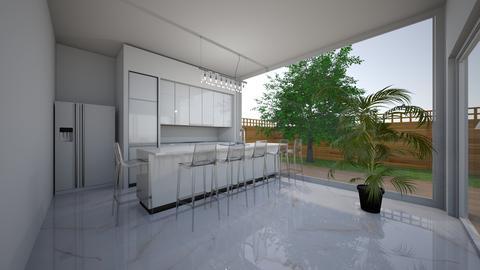 Modern hacienda_kitchen 2 - by saratevdoska