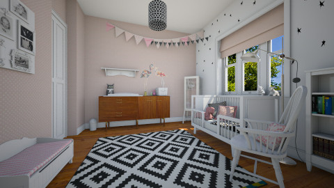 Eclectic girl's room - Eclectic - Kids room  - by MandyB84