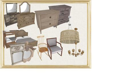 Old Bedroom Furniture - by stacey patterson