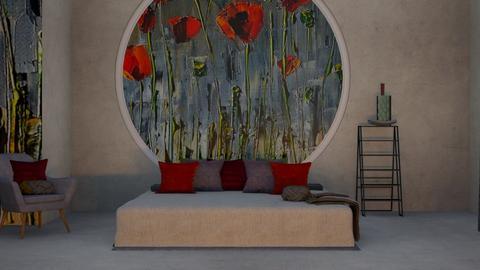 Poppy - Modern - Bedroom  - by ilikalle
