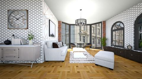 city_apartment_contest - Living room  - by milica tanurdzic