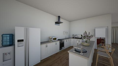 clear kitchen - Minimal - Kitchen  - by designbyma